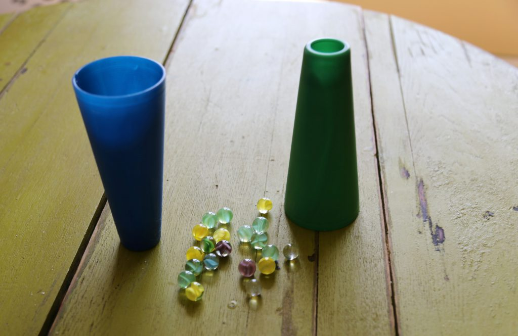 Cup and Marbles