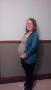 Kayla's Baby Bump