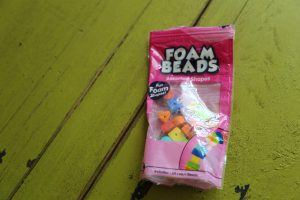Sand slime foam beads