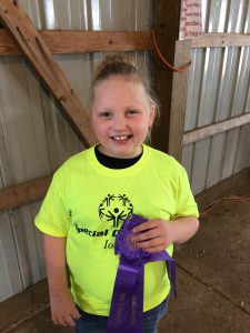 Caylee - special olympics