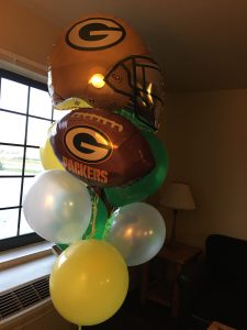 Caylee - Packers balloons
