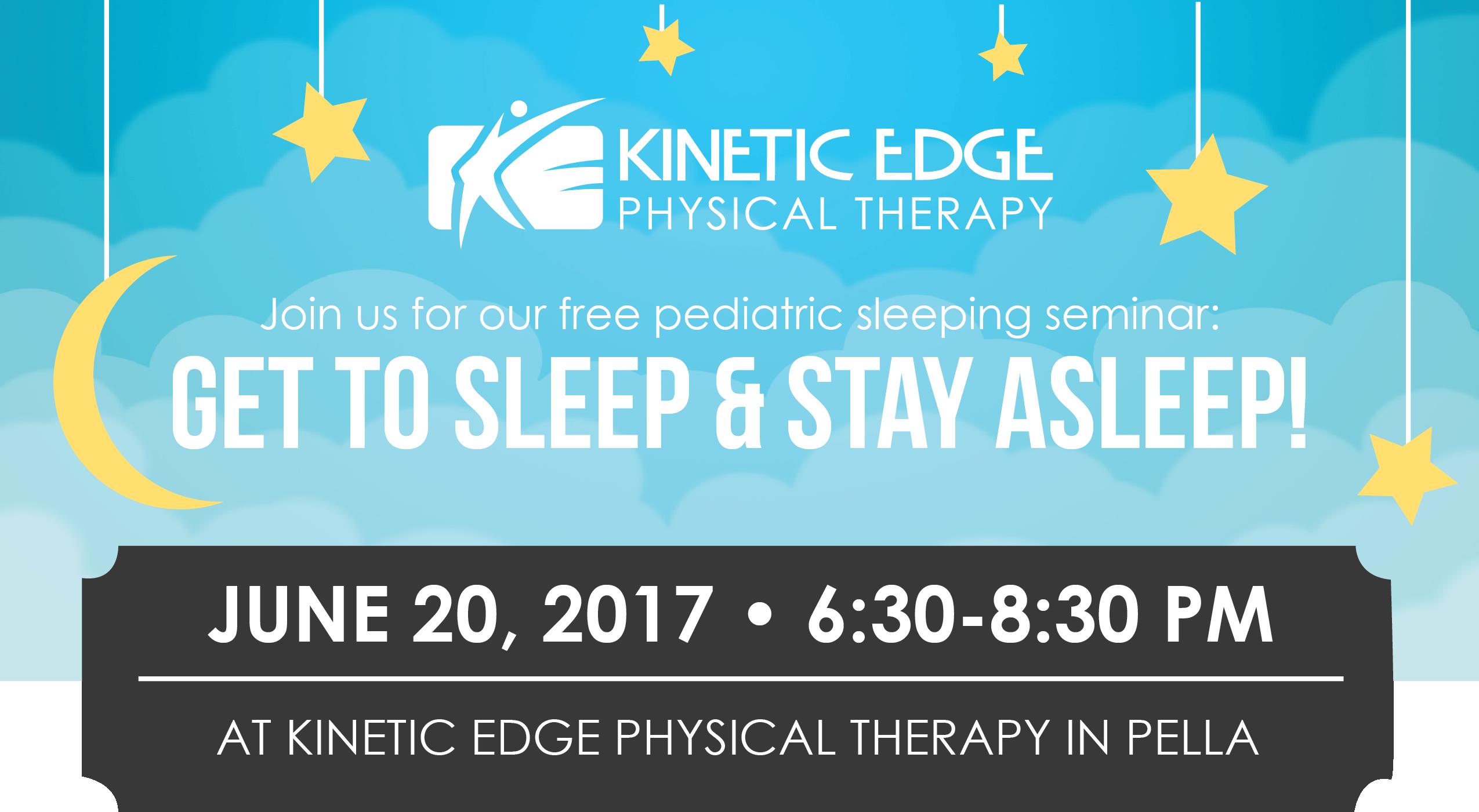 Sleep seminar