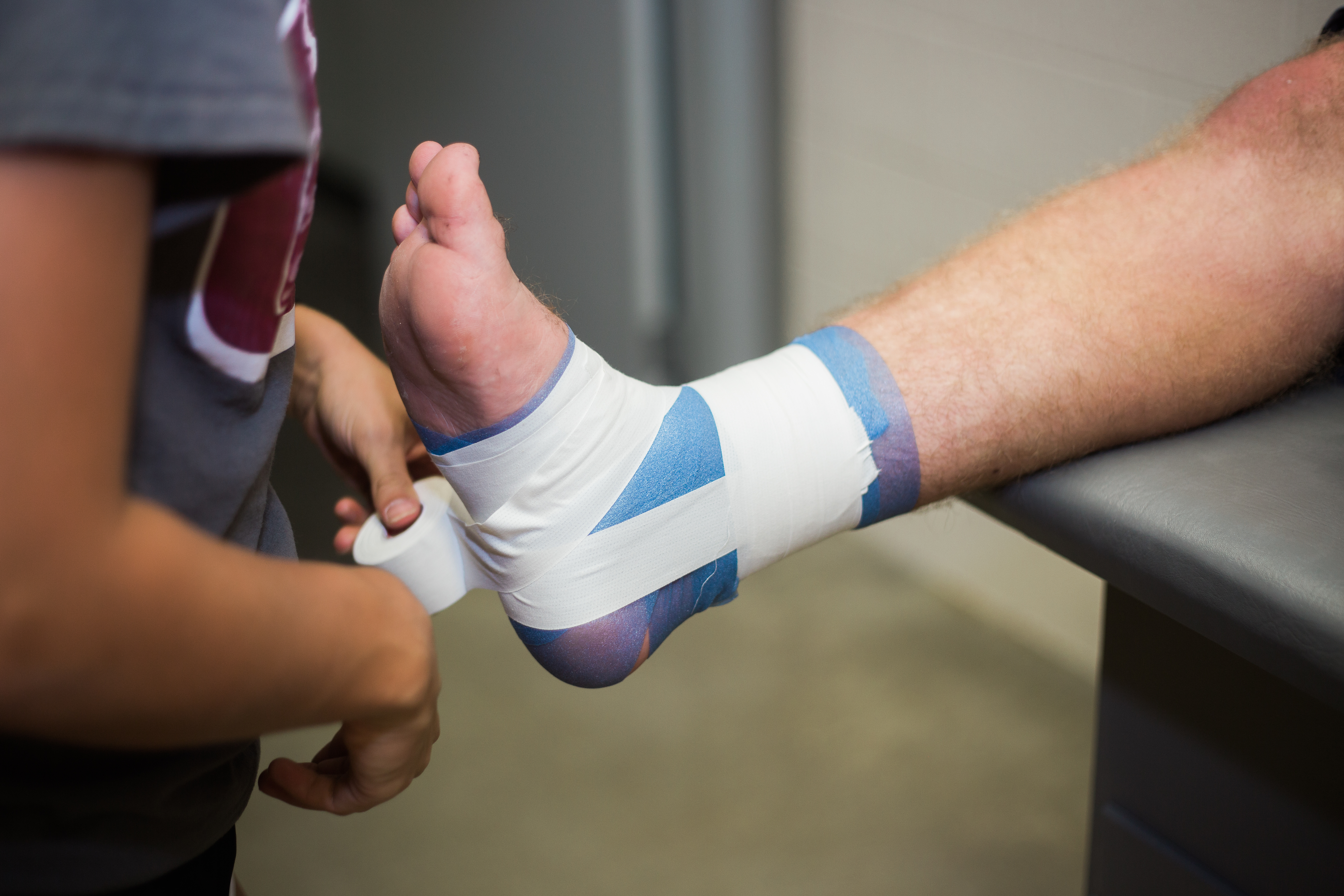 To Tape Or Not To Tape When Ankle Injuries Arise 7 Ankle Injury