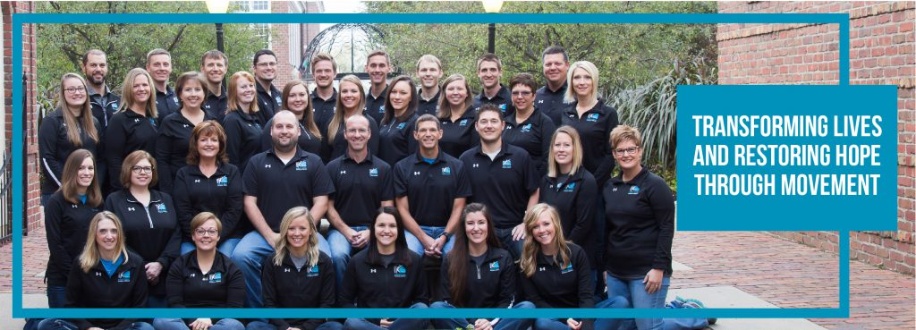 kinetic edge physical therapy whole company photo, 2017 reflections