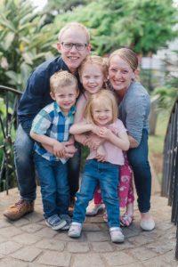 Joel Watters' family