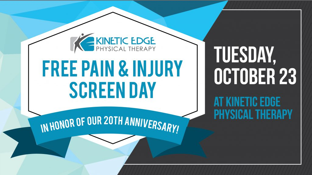 Free Screen Day on October 23 graphic