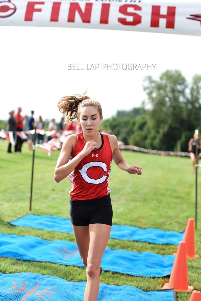 Cross Country Runner, Rachel Peter
