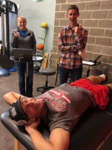 Matt Scotton Initial Evaluation for Physical Therapy in Newton