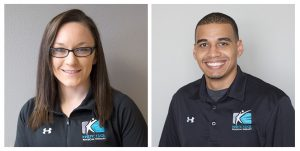 Physical Therapists Kaity Hall & Patrick Ford